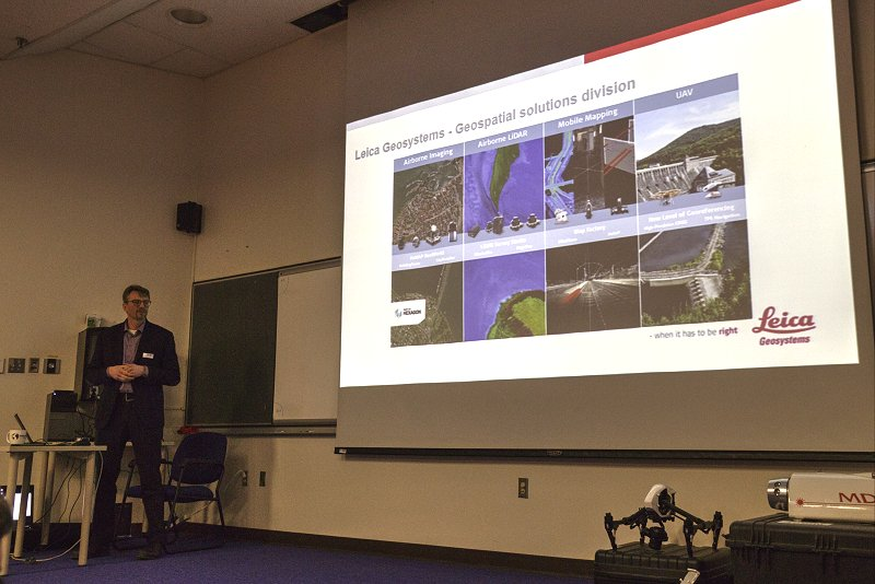 Anders Ekelund, Vice President of Airborne LiDAR for Leica Geosystems