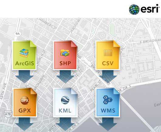 Six Data Sources For ArcGIS Online