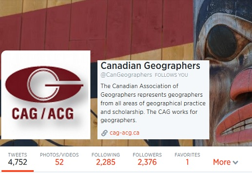 Canadian Geographers