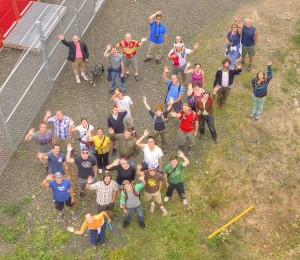 2012-2013 Advanced Geographic Science students and staff