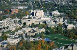 aerial-of-campus-in-fall