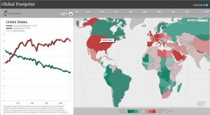 Global Footprint Map: Esri