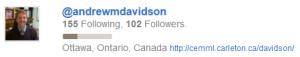 Andrew M Davidson Twitter