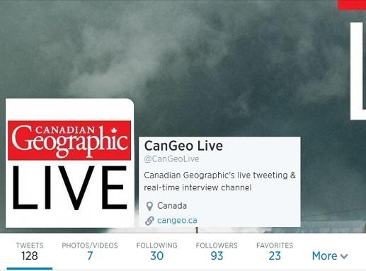 CanGeo Live