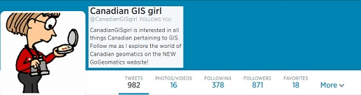Canadian GIS girl