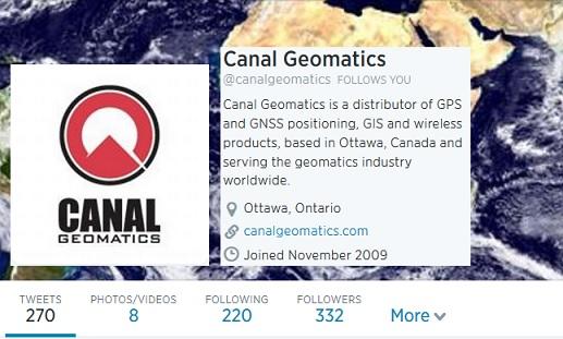 Canal Geomatics