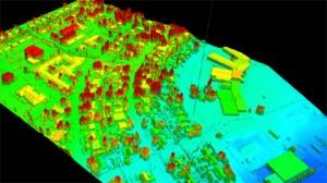 Lidar / GPS Terrain Modelling for Ice Jam Emergency Response