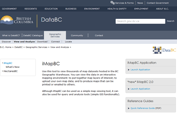 Data BC Portal