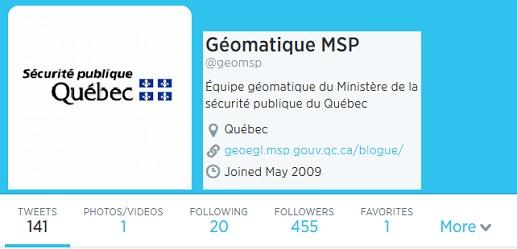 Geomatique MSP