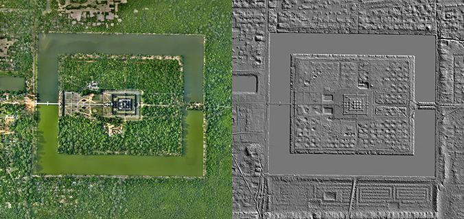 LiDAR Reveals Hidden Archaeological Ruins