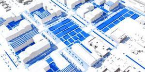 ESRI City Engine & DEM Art at Next Kingston GoGeomatics