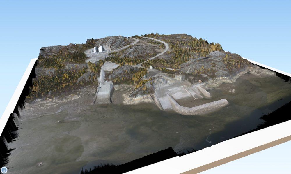 Kuujjuaq marina 3D model