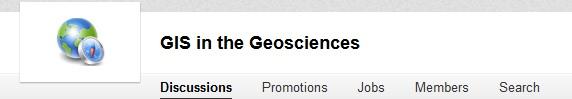 Linkedin gis in the geosciences