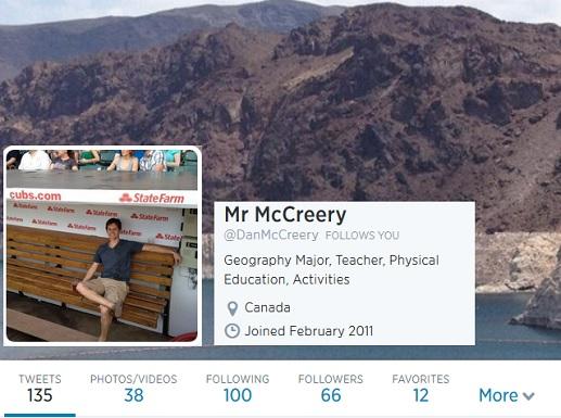 Mr McCreery