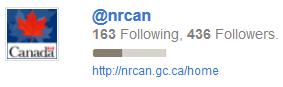 NRCAN TWITTER