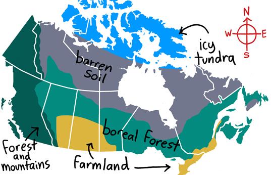 Geography Canada