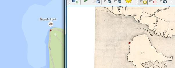 Georeferencing Scanned Maps Using QGIS | GoGeomatics