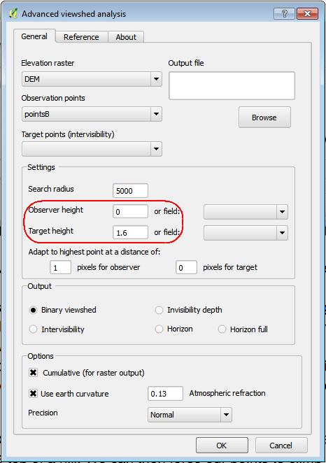 Viewshed Analysis plugin